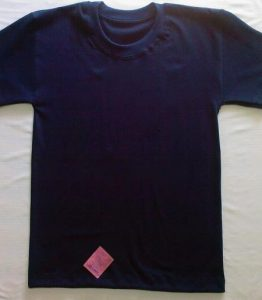 Koszulka T-shirt granatowa singiel