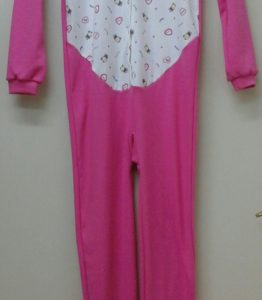 11. piżama jednoczęściowa bez stopek